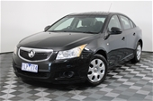 Unreserved 2011 Holden Cruze CD JH Manual