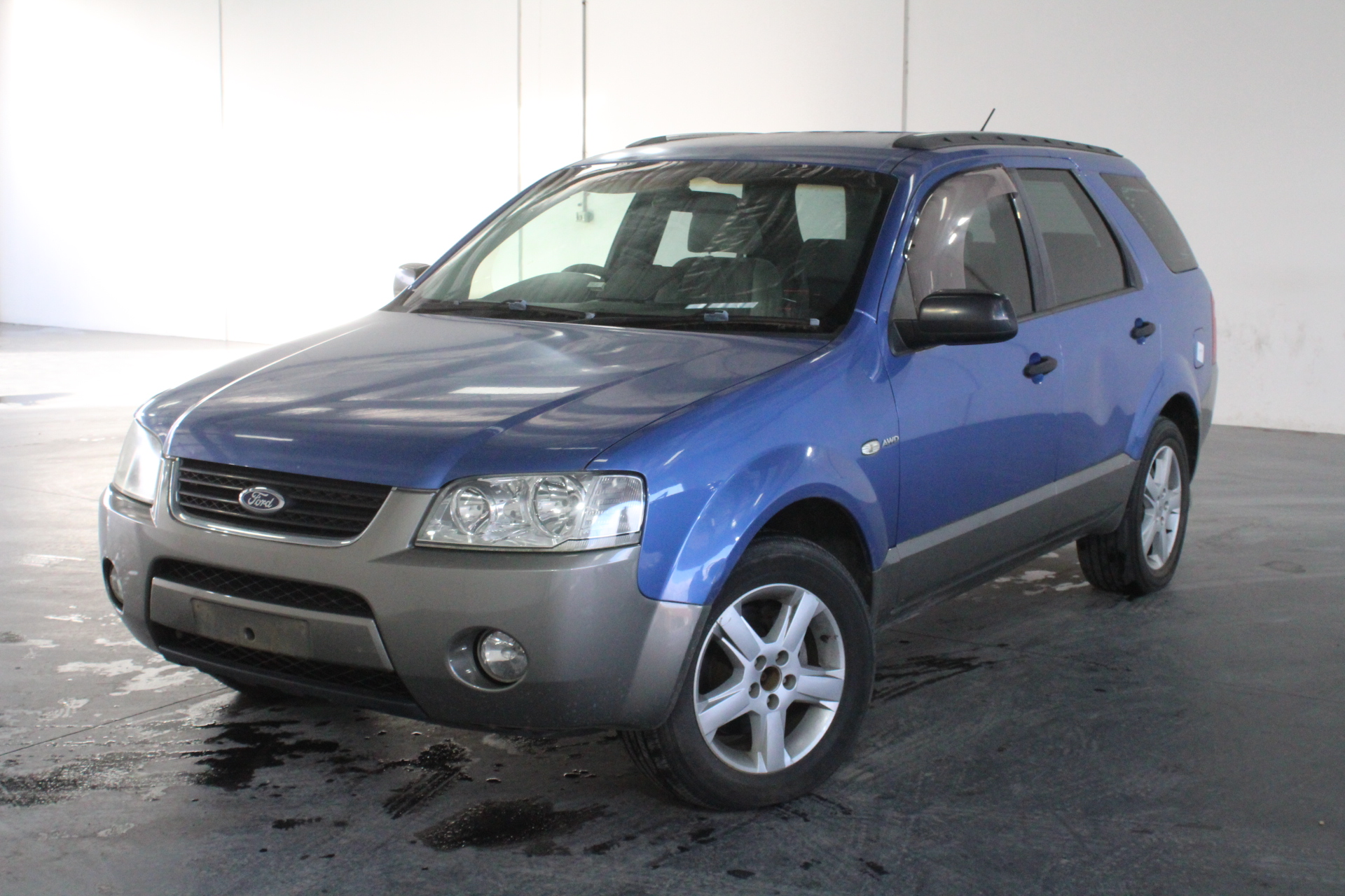 2004 Ford Territory TS (4x4) SX Automatic 7 Seats Wagon