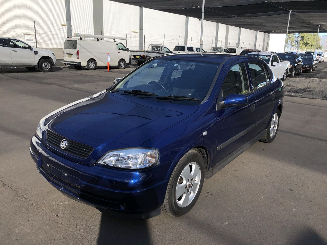 2004 Holden Astra CD TS Automatic Hatchback 34946