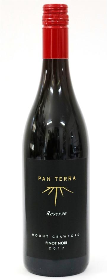 Pan terra Reserve Mount Crawford Pinot Noir 2017 (12 x 750mL) SA