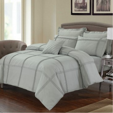 Avoca Single Bed Quilt Cover Set by Anfora