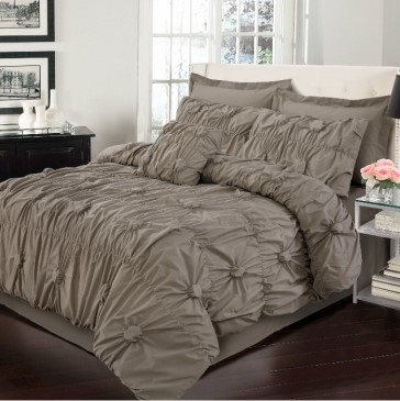 Renee Queen Bed Quilt Cover Set by Anfora