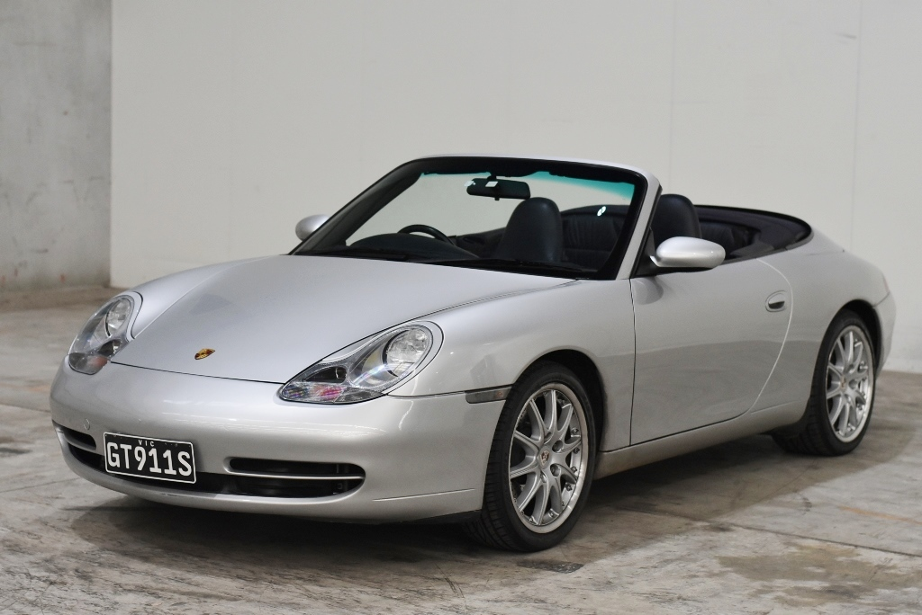 2000 Porsche 911 CARRERA 4 996 Manual Convertible