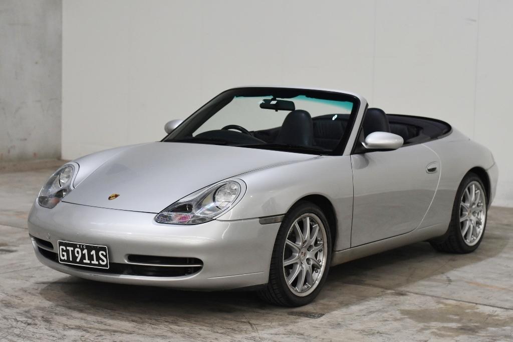 2000 Porsche 911 CARRERA 4 996 Manual Convertible