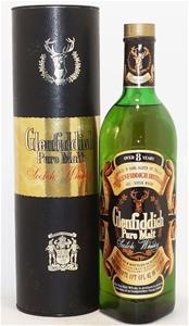 Glenfiddich `Pure Malt Scotch` Whisky NV