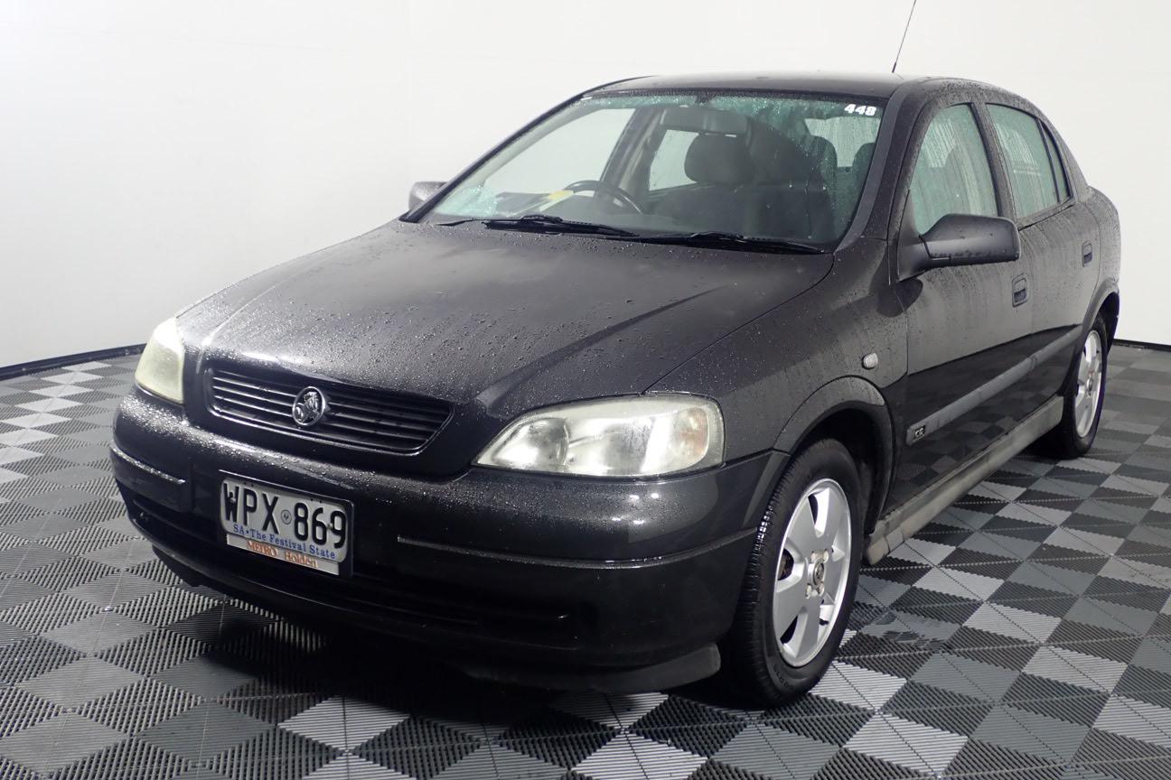 2001 Holden Astra CD TS Manual Hatchback