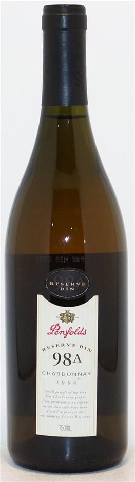 Penfolds `Reserve Bin 98A` Chardonnay 1998 (1x 750mL), AUS. Cork.