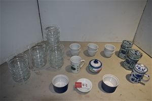 Lot of Assorted Crockery, Cannisters and