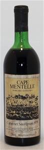 Cape Mentelle Cabernet sauvignon 1979 (1