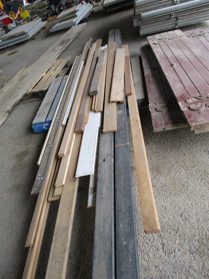 Pallet of Timber Moldings