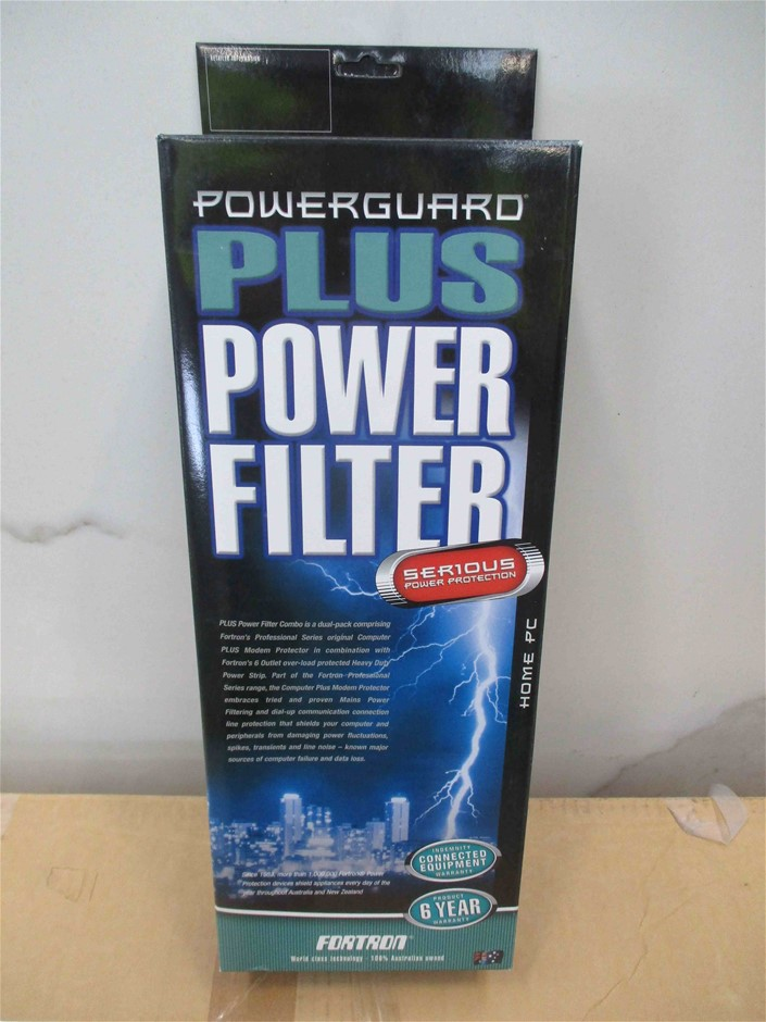 (4 Pack) Fortron Powerguard Plus Power Filter 6 Outlets (Home PC)