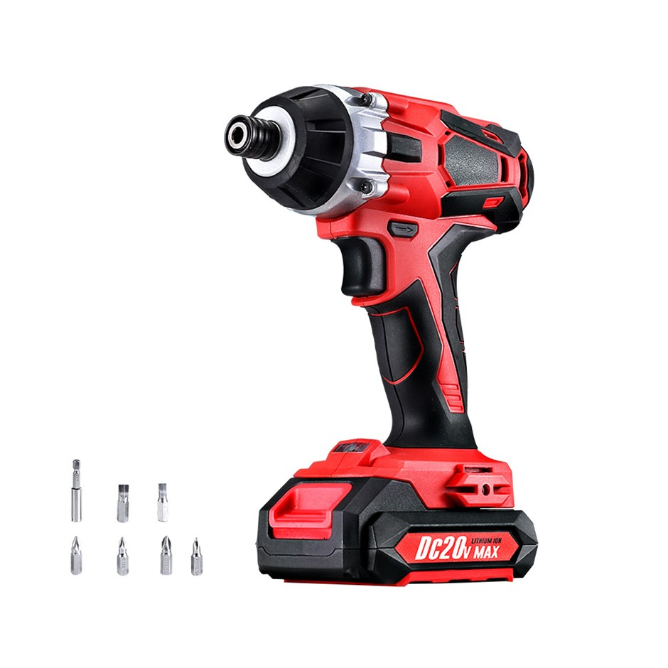 Giantz Impact Driver Cordless 20V Lithium Battery Electric Screwdriver Hex