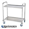 Unused Stainless Steel Food Trolley (large)