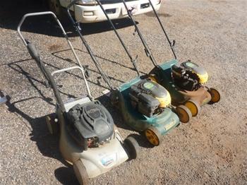 3x Lawn Mowers