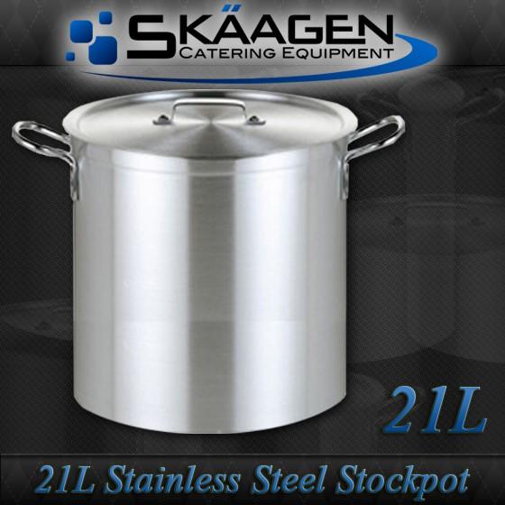 Unused Stock Pot 21L