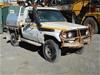 2004 Toyota Land Cruiser HDJ79R 4WD 3 seater Ute