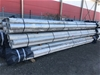 <p>Bundle of 10 x 6500mm x 150mm Galvanised Shouldered End Pipe Sections -