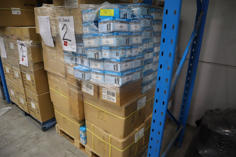 Pallet of asst CABAC items