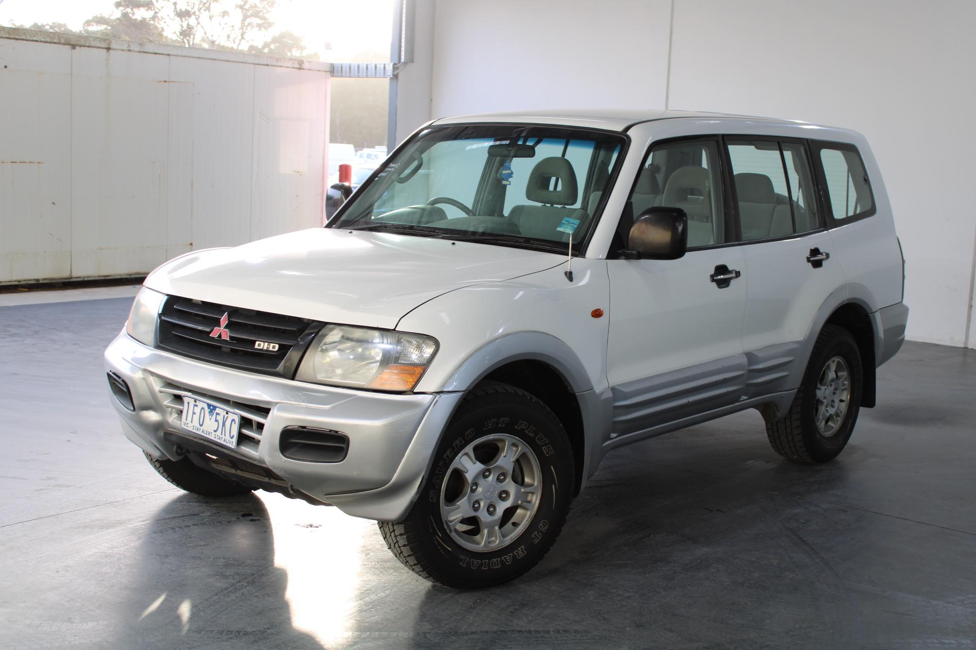 2002 Mitsubishi Pajero GLS LWB (4x4) NM Turbo Diesel Auto 7 Seats Wagon