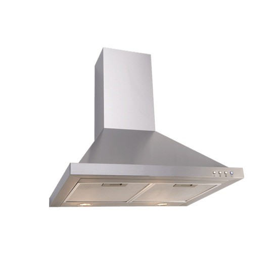 Euro 60cm Stainless Steel Canopy Rangehood, Model: EA60SX