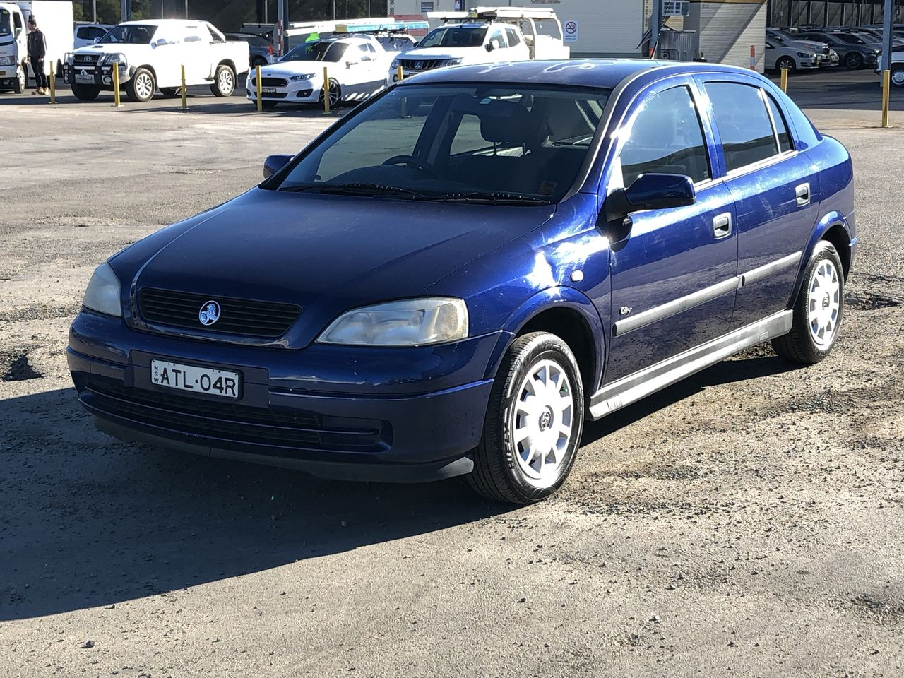 2003 Holden Astra City TS Automatic Hatchback