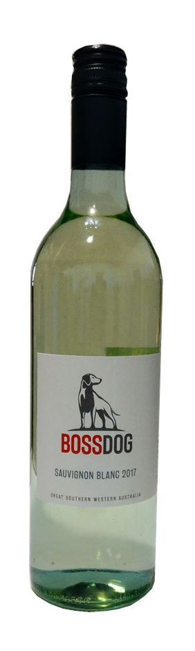 Boss Dog Sauvignon Blanc 2017 (12 x 750mL) Great Southern, WA