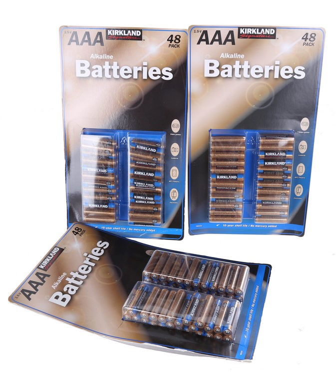 3 Packs of 48 x AAA Batteries. (264551-293)