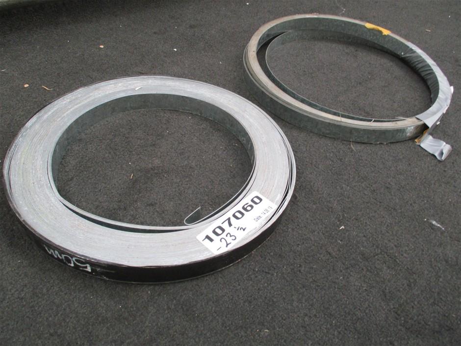 Qty 2 x Metal Strapping Rolls
