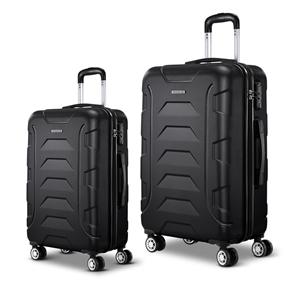 Wanderlite 2PCS Carry On Luggage Sets Su