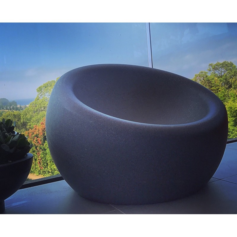 1 x Genus Lake Pod Chair (Stone Colour)