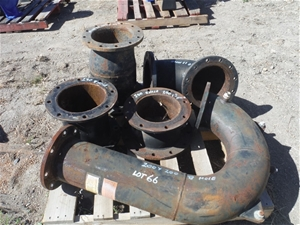 Pallet of Various Pipe Fittings & Reduce