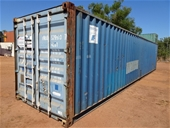 JKC Australia - 40' Shipping Containers inc Contents
