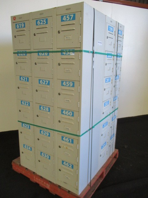 Qty 7 x Steelco Lockers