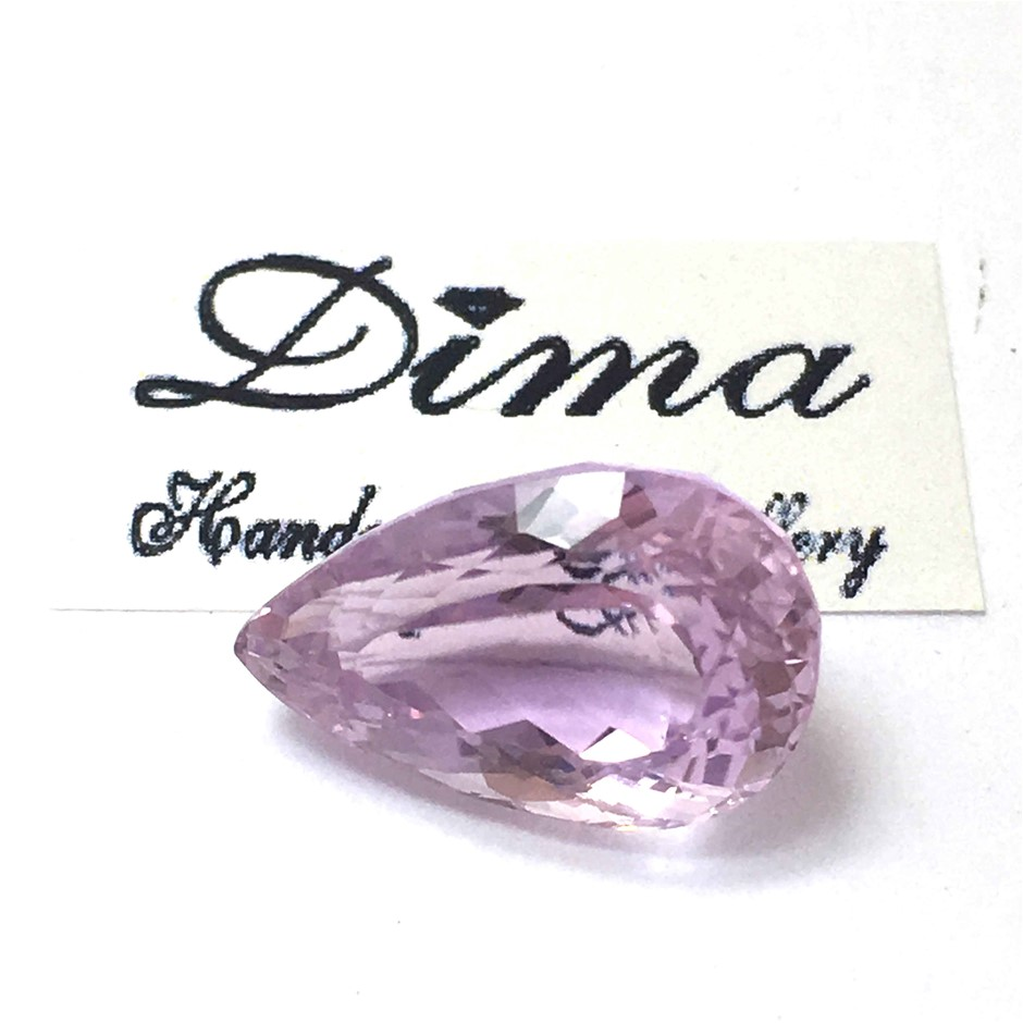 One Stone Kunzite 12ct in Total