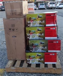 Pallet of Assorted Vacuum Fitting Access