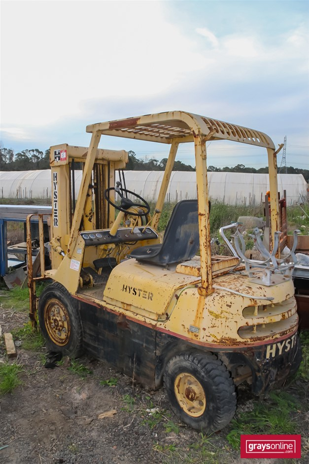 Hyster H4DH Container Forklift Auction (0005-5038704