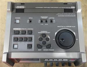 Edirol 4 channel portable recorder and w