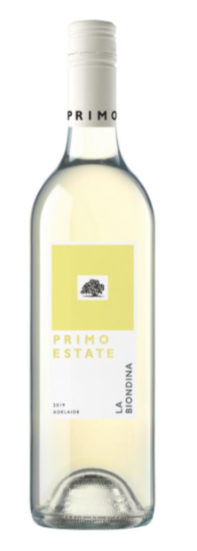Primo Estate `La Biondina` Colombard 2019 (12 x 750mL), Adelaide, SA.