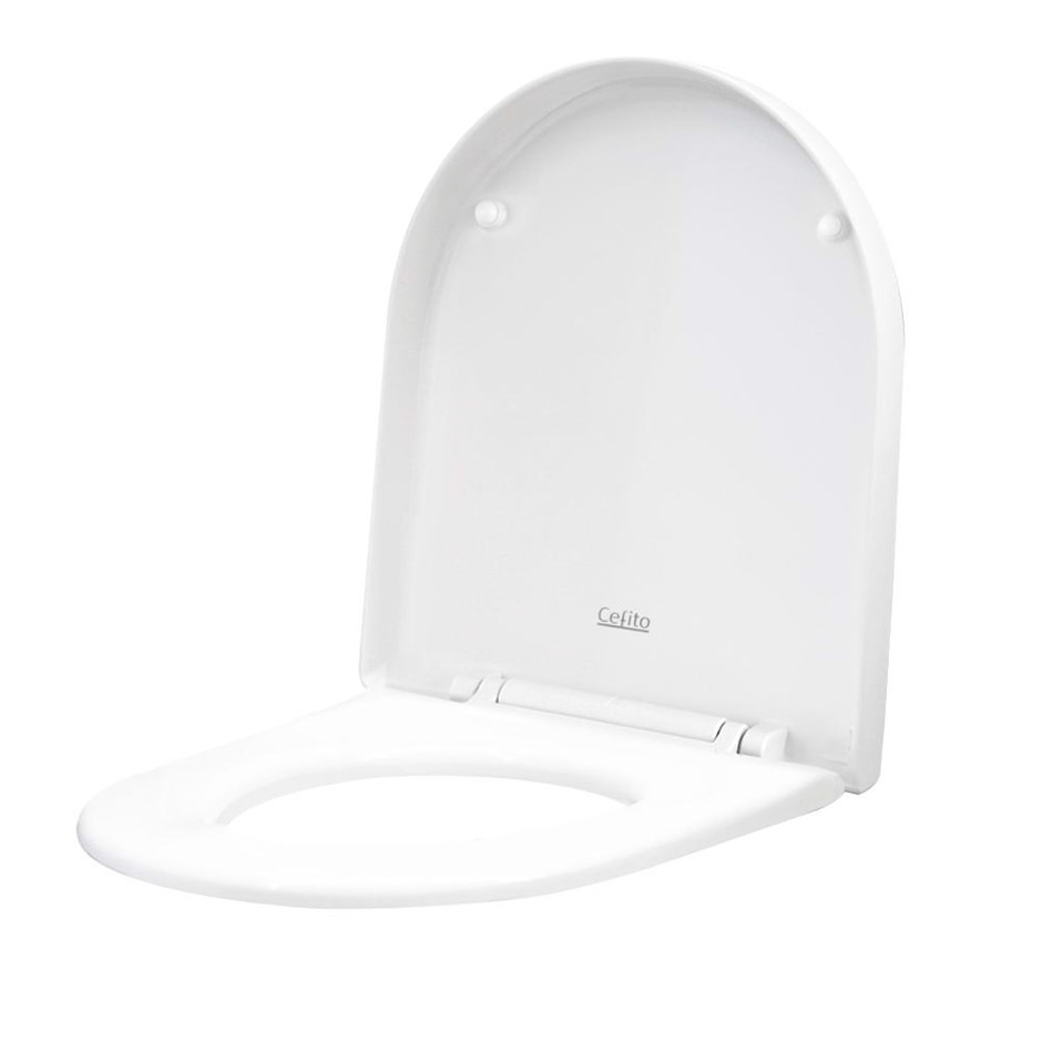 Cefito Soft-close Toilet Seat Cover U Shape Universal Fitting Bathroom