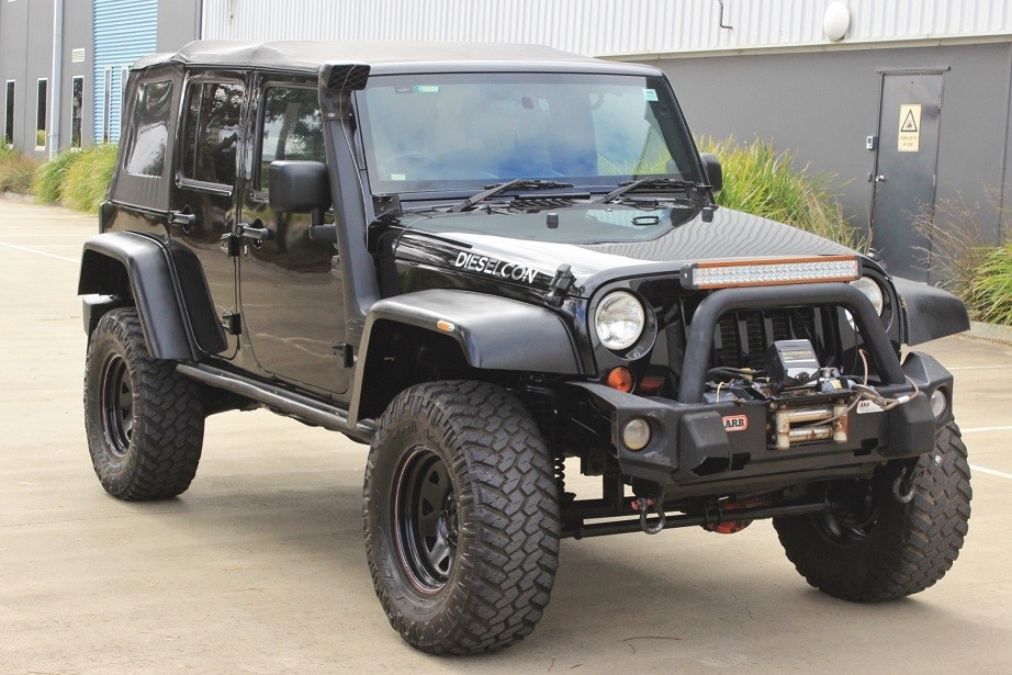 2010 Jeep Wrangler Unlimited Sport MY10 Turbo Diesel 4WD Automatic SUV