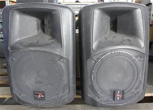 Pair of DAS Audio DS108A Powered Loudspe