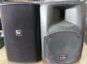 2 x Assorted Brand Speakers