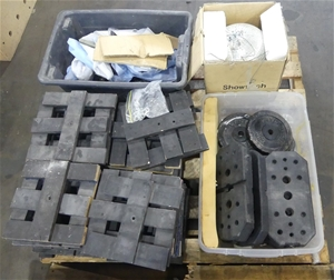 Pallet of Assorted Stage Parts