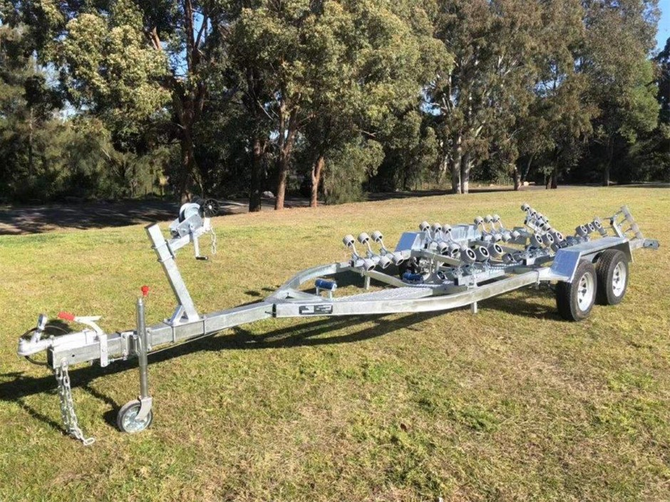 New 2019 Heavy Duty Galvanised Dual Axle Boat Trailer