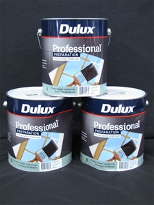Qty 3 x Dulux 4L Professional Preparatio