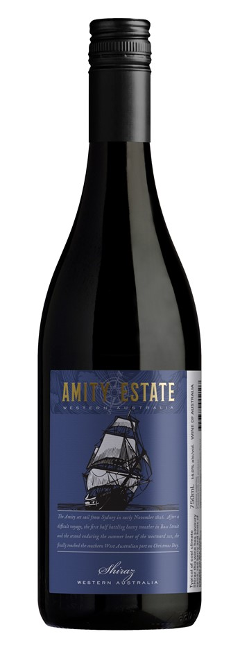 Amity Estate Shiraz 2015 (12 x 750mL), WA