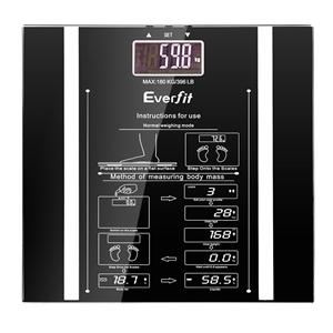 Everfit Digital Body Fat Weight Scale Ba