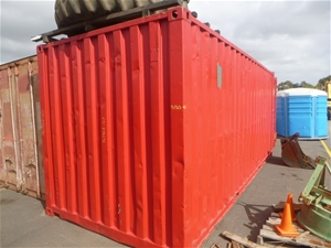 1 x 20ft Sea Container and Contents