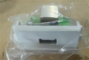 Box of Approx. IMAGE 17 x Wallplate USB