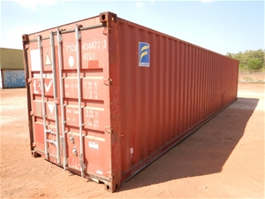 Container, 40 Foot, Standard with Conten